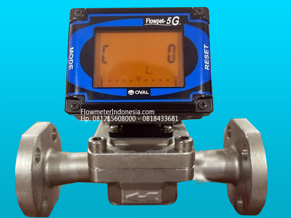 Flow Meter Oval Flowpet 5G Reset