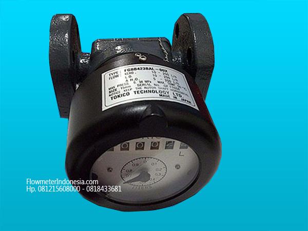 Flow meter tokico 20mm non reset