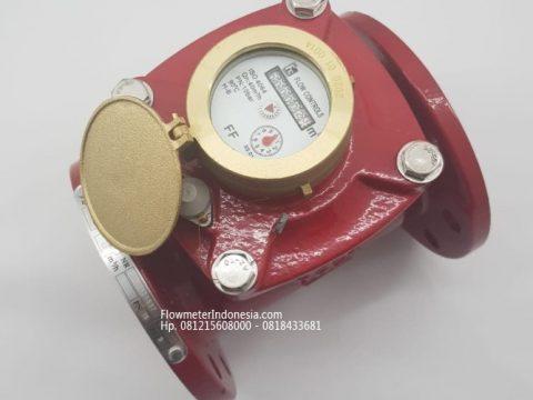 Water meter Merk FC - Flow Control untuk AIR PANAS 3 inch